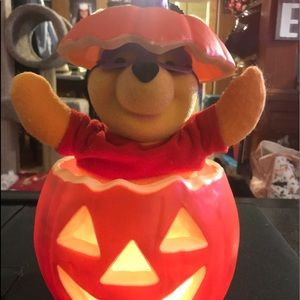 Winnie the Pooh animated Halloween decoration